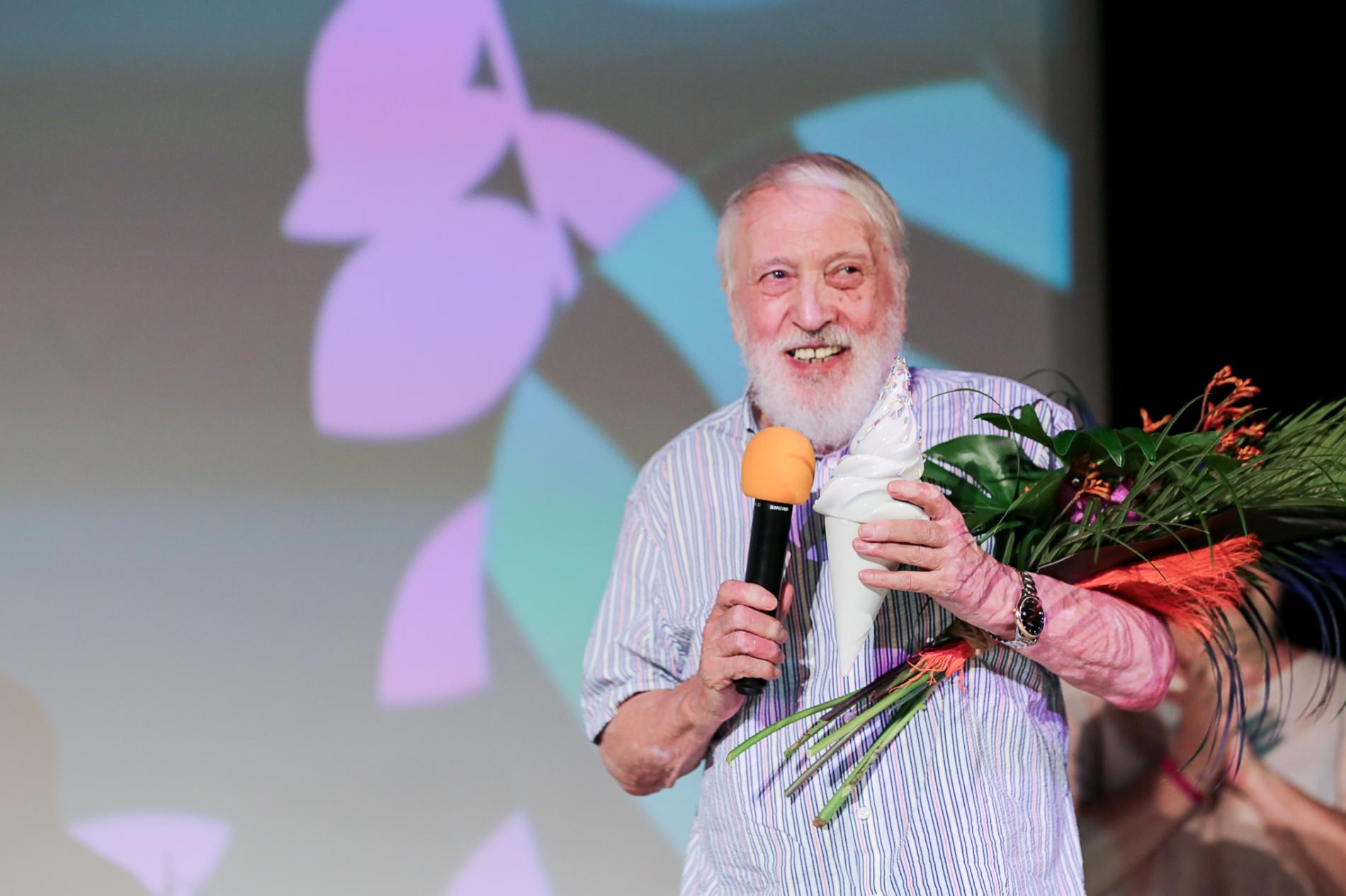 Boisterous Celebration in Hvězda Cinema