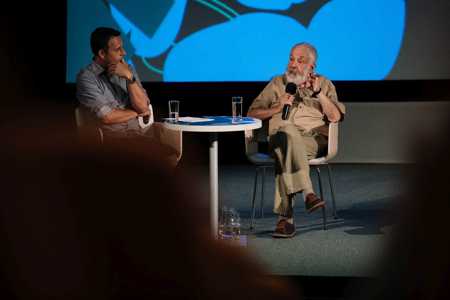 Rehearsals and Narrations with Mike Leigh